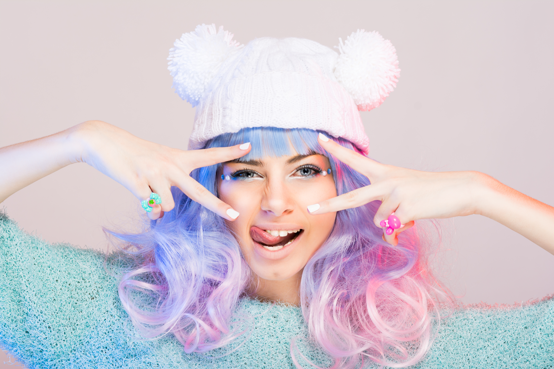 Pastell Haare - Pastellfarben die Trendfarben