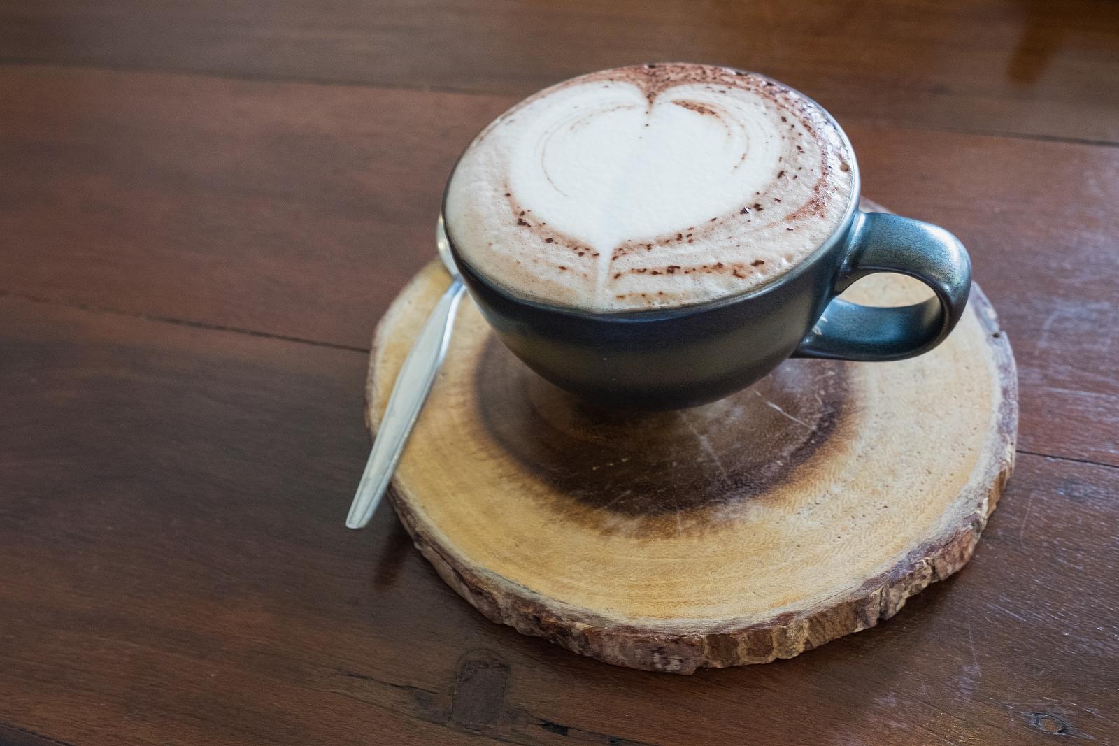 Kaffee - Motiv im Schaum - Trends 2016