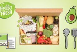 Gewinne eine HelloFresh Kochbox